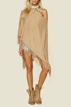Minnie Rose Cashmere Fringe Ruana - Product List Image