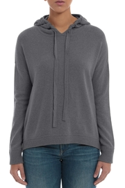 Minnie Rose Cashmere High-Low Hoodie - Product Mini Image