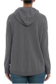 Minnie Rose Cashmere High-Low Hoodie - Side cropped