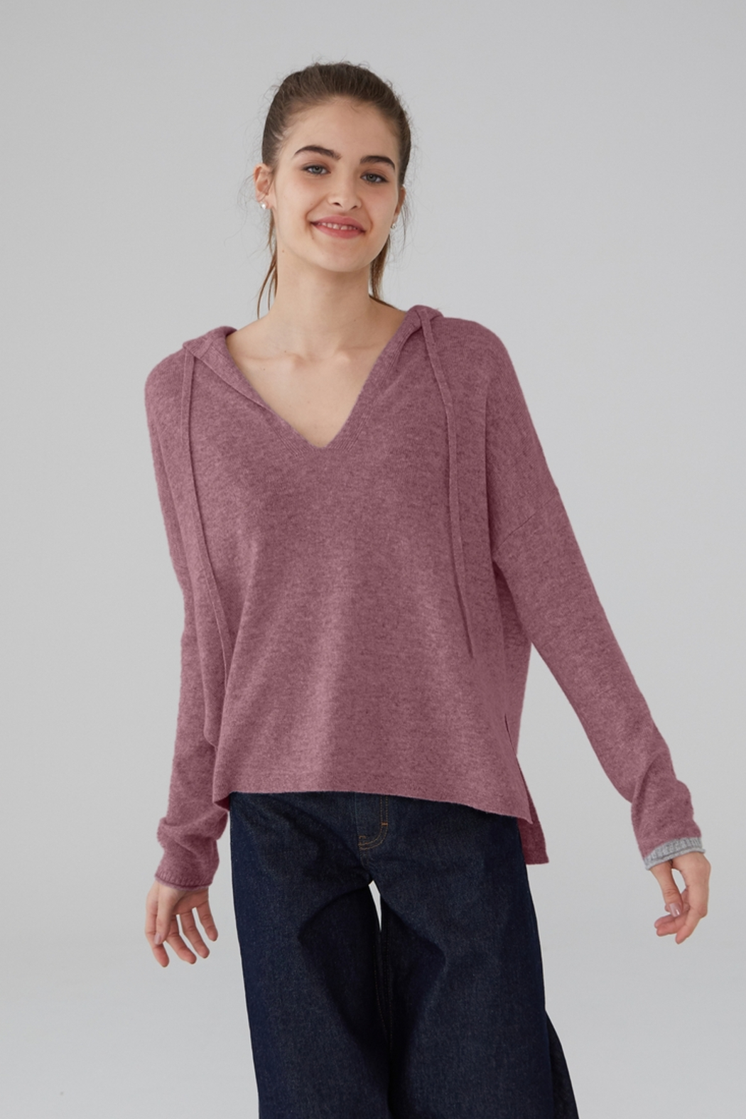Revive Cashmere Cashmere Hoodie - Main Image