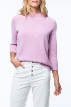 Tyler Boe Cashmere Mock Neck Sweater - Product List Image