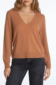 525 America Cashmere Polo Pullover - Product List Image
