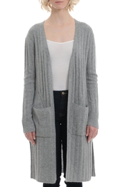 Minnie Rose Cashmere Ribbed Duster - Product Mini Image
