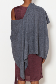 Tees by Tina Cashmere Ruana - Back cropped