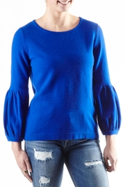 Cortland Park Cashmere Cashmere Ruched Sweater - Product Mini Image