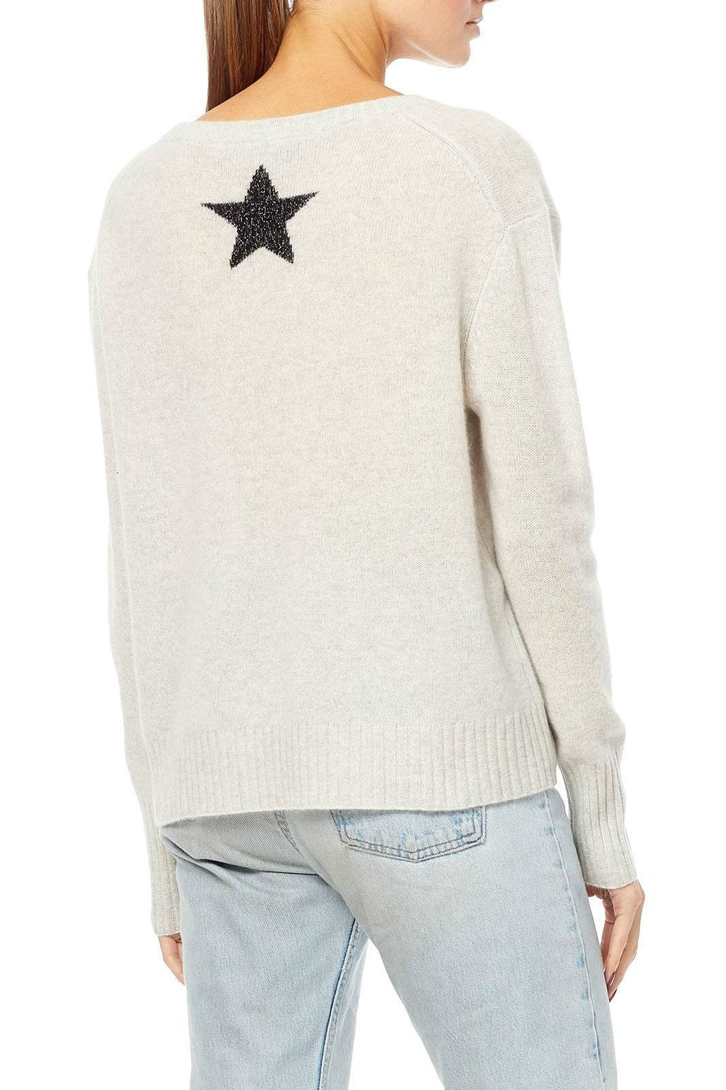 360 Cashmere Cashmere Star Sweater - Front Full Image