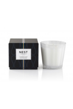The Birds Nest CASHMERE SUEDED 3 WICK CANDLE - Alternate List Image