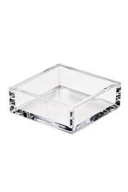 Caspari Clear Crystal Acrylic Cocktail Napkin Holder - Product Mini Image