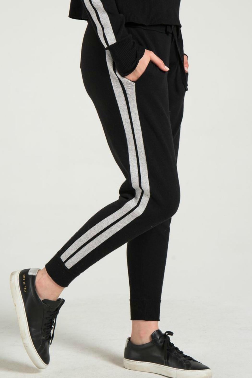 n : PHILANTHROPY Cass Track Pant - Back Cropped Image