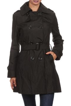 Shoptiques Product: Solid Trench Coat