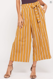 Wishlist Cassie Striped Paperbag Pants - Product Mini Image