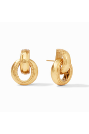 Julie Vos Cassis Doorknocker Earring Gold - Product Mini Image