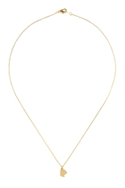 Riah Fashion Cast-Cat Pave Necklace - Product Mini Image