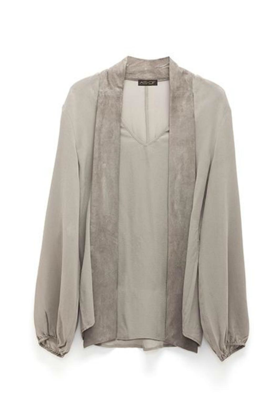 AS by DF Castellina Blouse - Side Cropped Image
