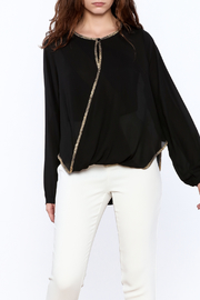 Casting Black Purete Top - Front cropped