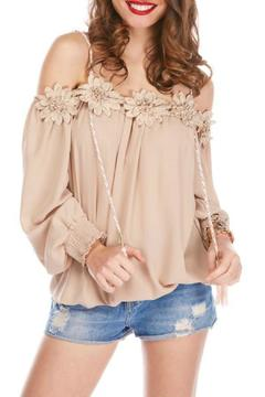 Shoptiques Product: Floral Applique Top