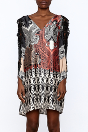Casting Lace Tunic Dress - Side cropped