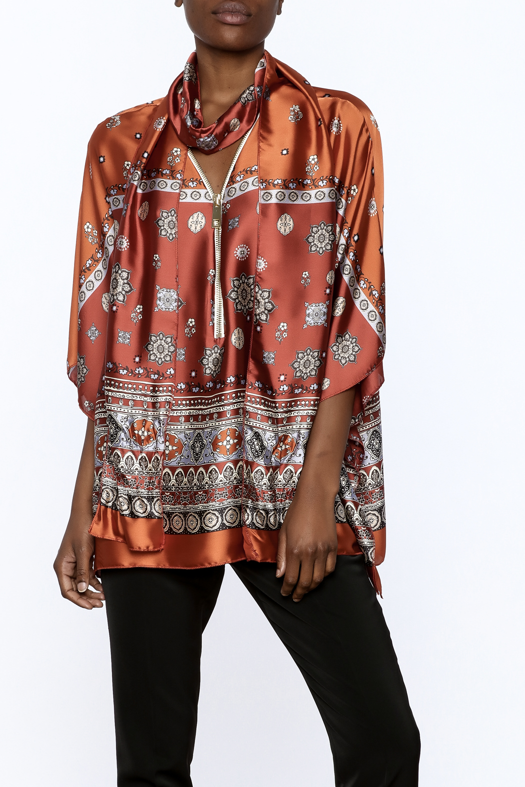 Casting Sasha Caftan Top - Front Cropped Image