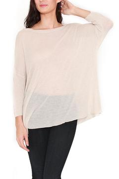 Shoptiques Product: Slouchy Boat-Neck Sweater