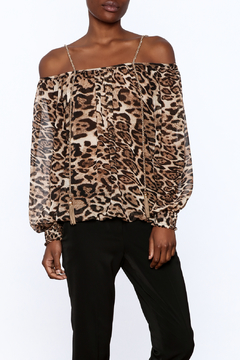 Casting Smoke Leopard Top - Product List Image