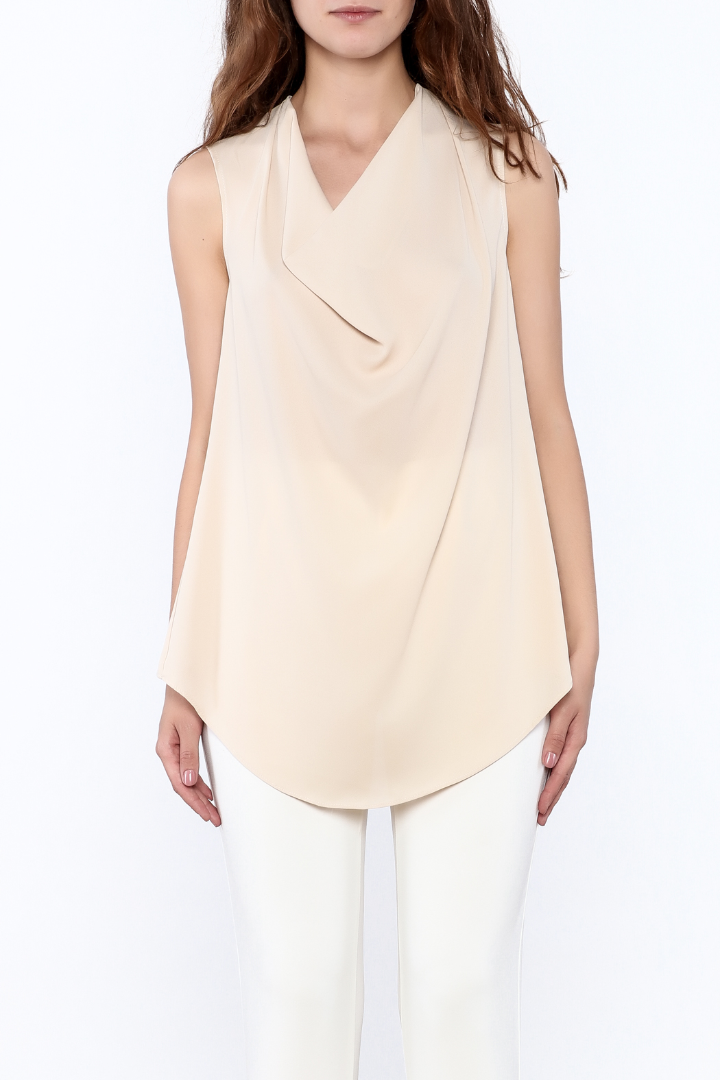 Casting V-Neck Top - Side Cropped Image