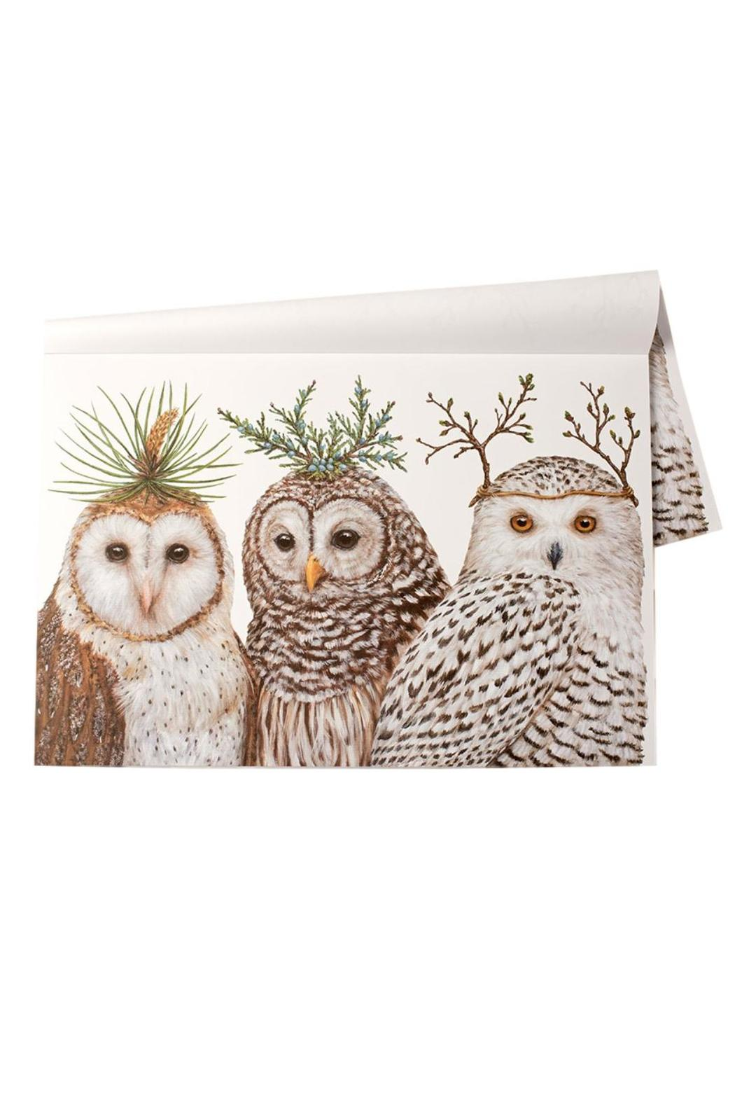 Castles Home Decor Winter Owl Placemats From Denver