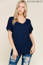 Flamingo Casual Boyfriend Tee - Front cropped