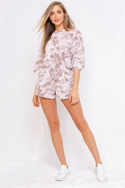 Gilli  Casual Camo Romper - Product Mini Image