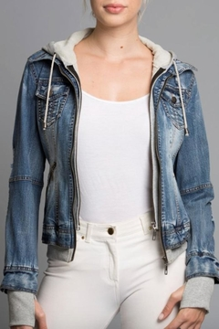 Coalition LA Casual-Chic Denim Jacket - Product List Image