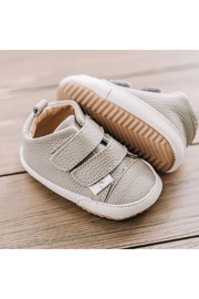 Little Love Bug Company Casual Grey Low Top Moccasin - Side cropped