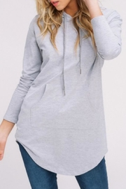 Listicle Casual Hoodie Tunic - Product Mini Image