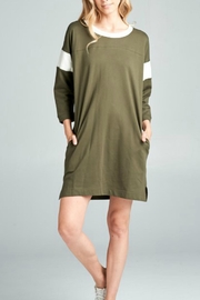 Ellison Casual Knit Dress - Product Mini Image