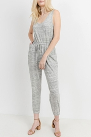 Cherish Casual Knit Jumpsuit - Front cropped