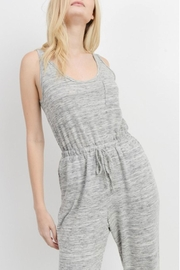 Cherish Casual Knit Jumpsuit - Side cropped