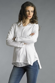 Tempo Paris Casual Pull-Over Sweater - Front cropped