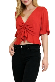 in the Beginning Casual Short Top - Front full body
