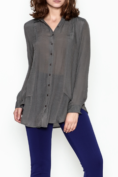 casual studio Button Front Tunic - Product List Image