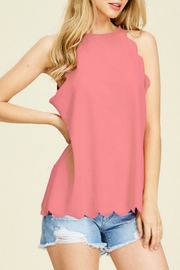 Ivory Casual Tank Top - Product Mini Image