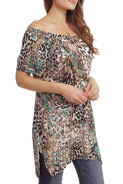 Casual Land Animal Print Tunic - Alternate List Image