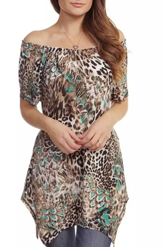 Casual Land Animal Print Tunic - Product List Image