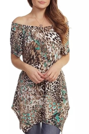 Casual Land Animal Print Tunic - Product Mini Image