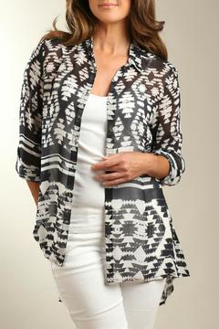 casual studio Aztec Chiffon Shirt - Alternate List Image