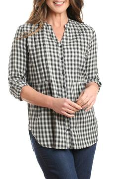 casual studio Black Plaid Tunic - Alternate List Image