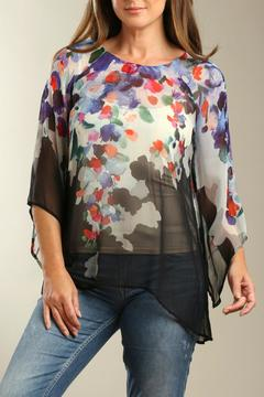 casual studio Floral Chiffon Top - Alternate List Image