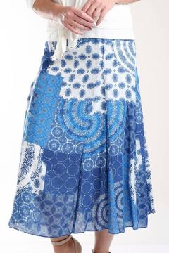 casual studio Patchwork Print Skirt - Alternate List Image