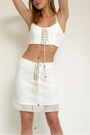 in the Beginning Casualmesh  Set,top&Skirt - Side cropped