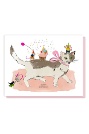 Driscoll Design Cat And Mouse Birthday Card - Product Mini Image