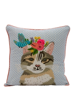 Shoptiques Product: Cat Bird Pillow