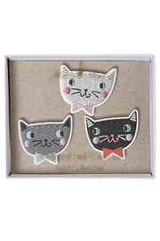 Meri Meri Cat Brooches - Product Mini Image