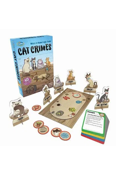 ThinkFun Cat Crimes - Product List Image